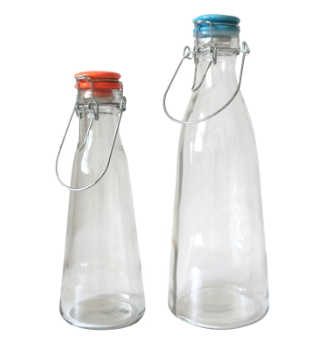 1000ml Milk Glass Bottle