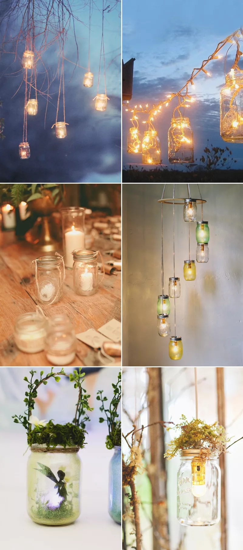 How Mason Jars Are Arranged In The Wedding Party?cid=96