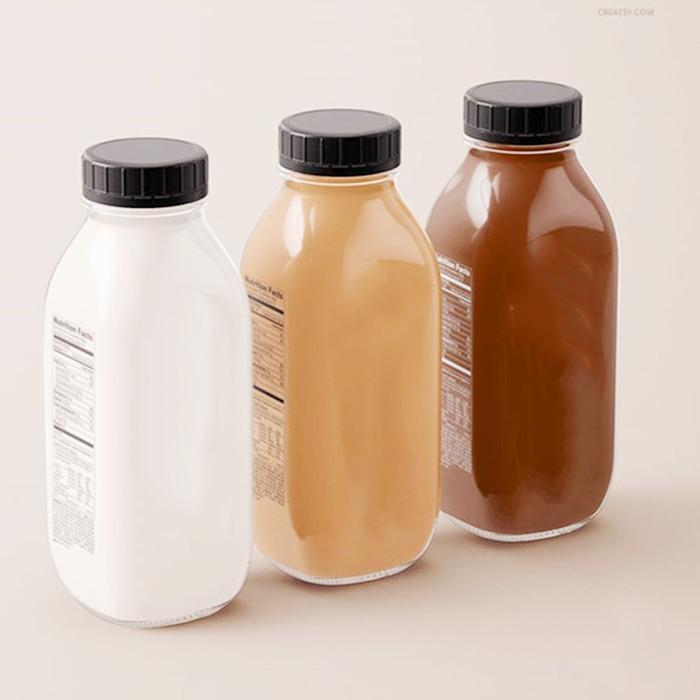 Glass Bottle For Organic Juice