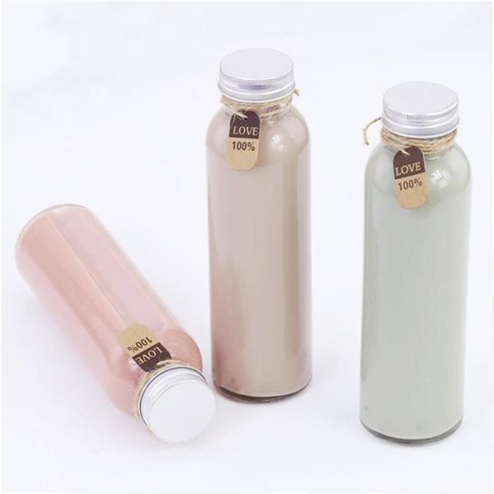 12oz Round Glass Bottle
