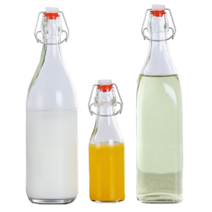 500ml Glass Swing Top Bottle