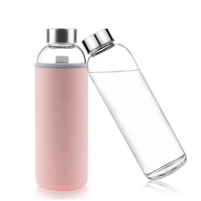 16oz Glass Water Bottle