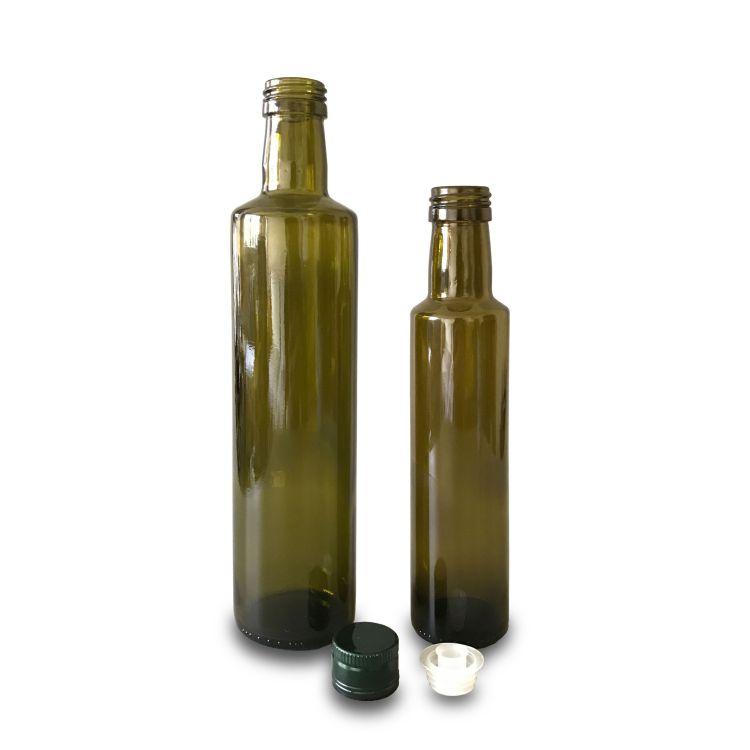 Glass Dorica Oil Bottles