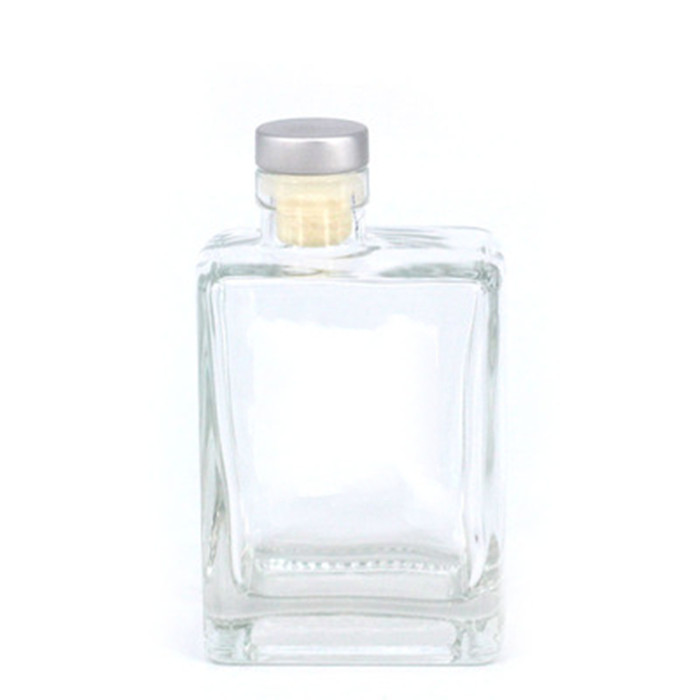 Flint Glass Spirit Bottle with Cork