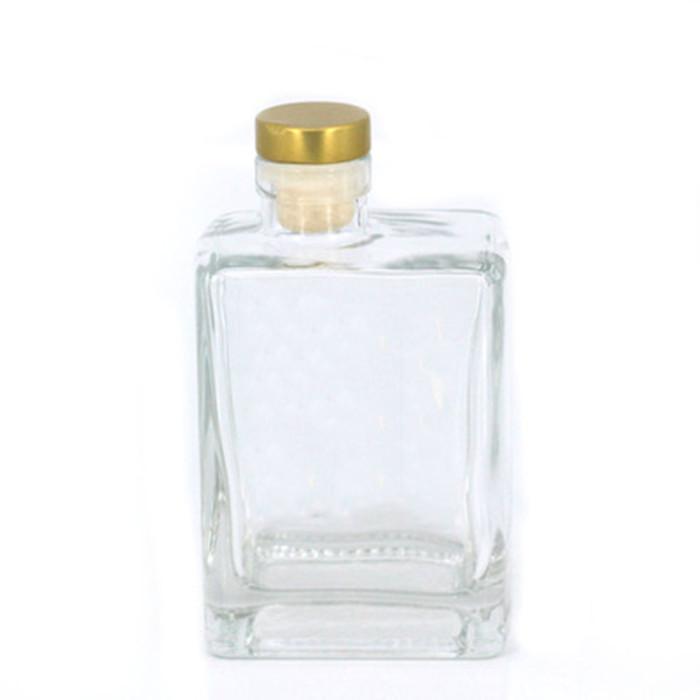 Flint Glass Spirit Bottle with Cork