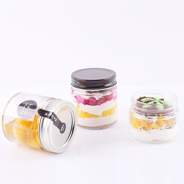 Straight Side Glass Jar