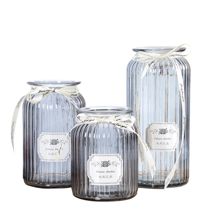 Glass Vases Home Decoration