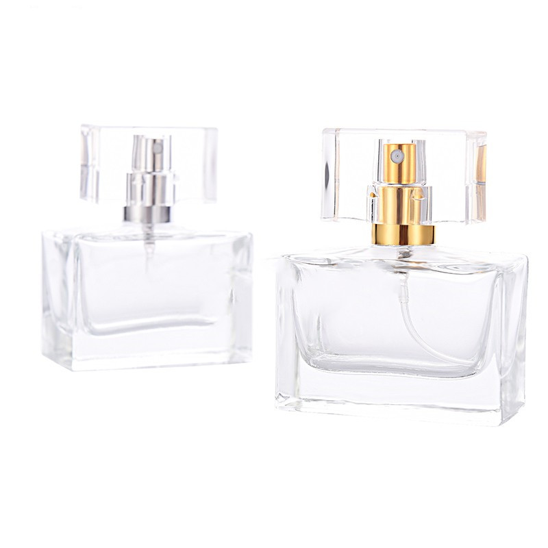 30ml Glass Square Perfume Bottle