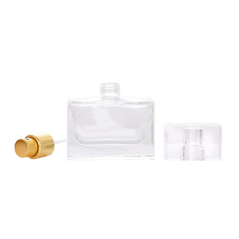 30ml Glass Square Perfume Bottle