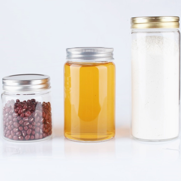 Borosilicate Glass Straight Sided Jar
