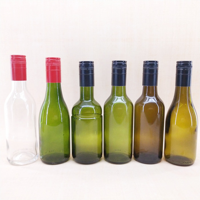 187ml Green Wine Bottle Glass