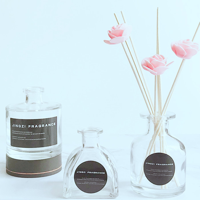 Glass Reed Diffuser Bottle