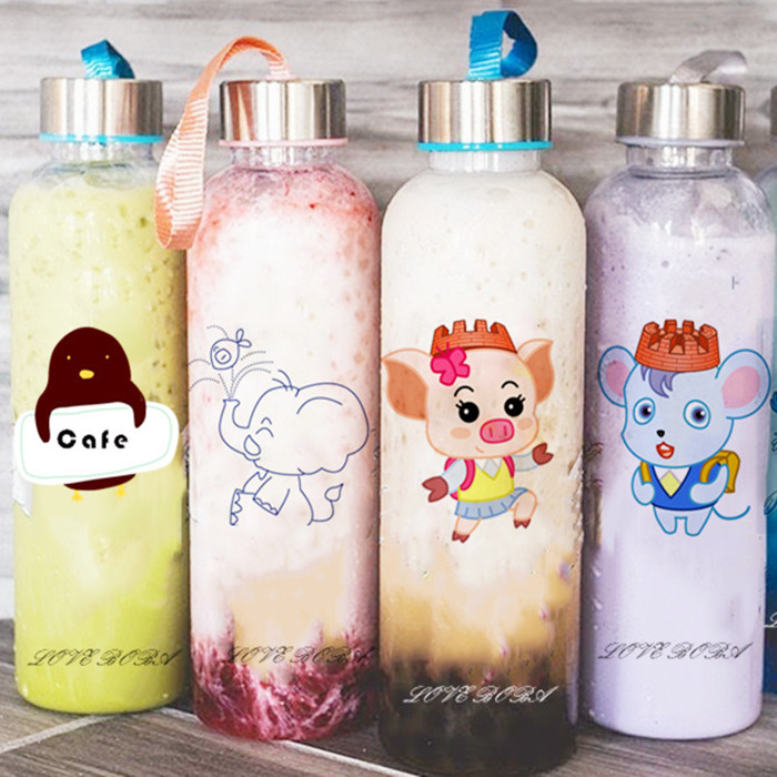 Customized Logo Printing on Bottles