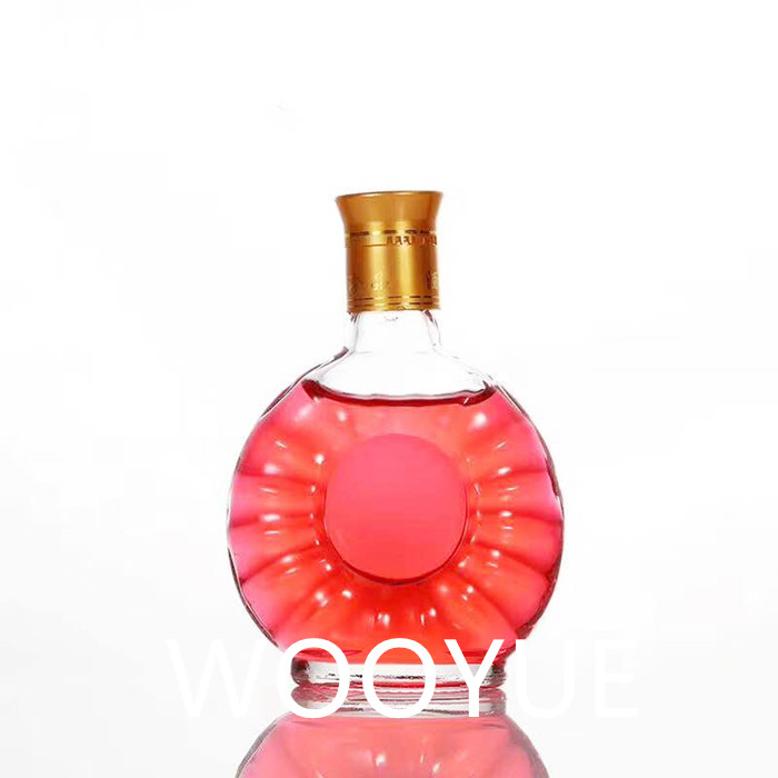 125ml Clear Glass Liquor Bottles