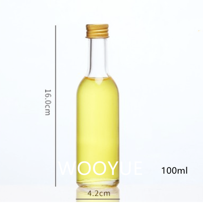50ml 100ml Small Glass Oil Bottles