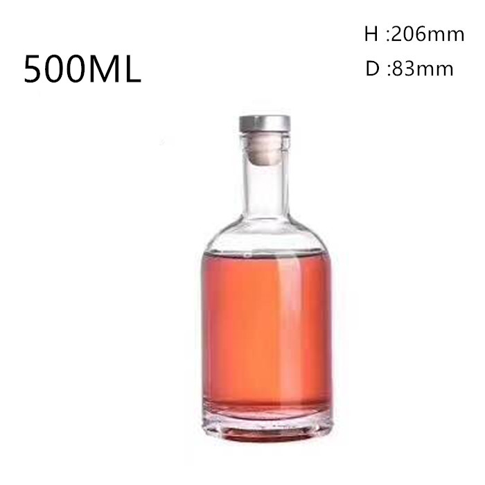 50ml Glass Bottle with Cork