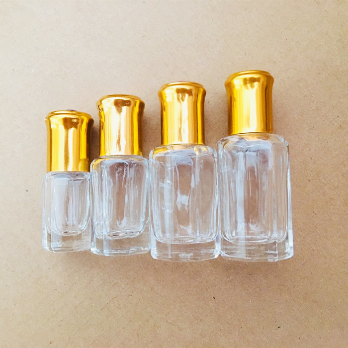 Small Perfume Attar Glass Bottles