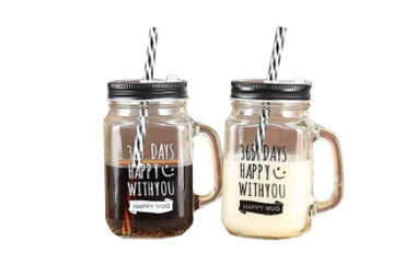 How Mason Jars Are Arranged In The Wedding Party?