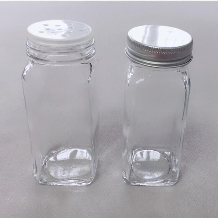 3.5oz Glass Spice Jar with Shaker