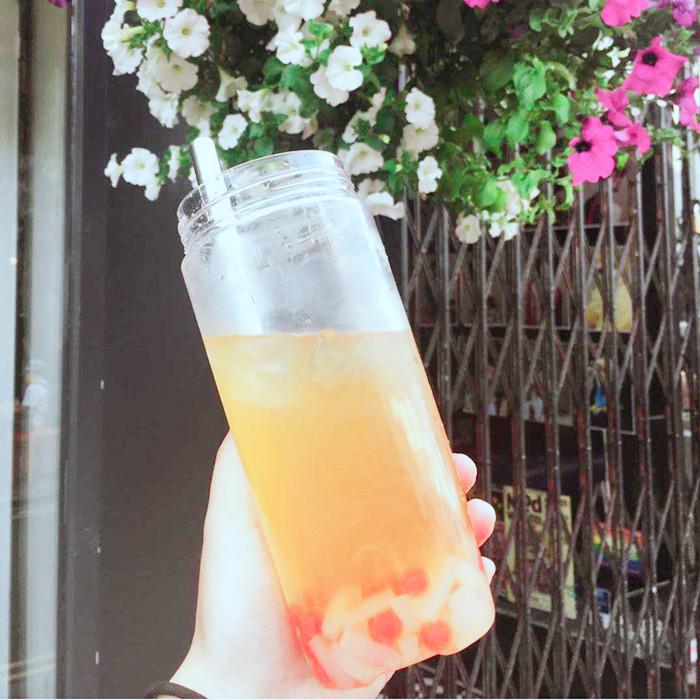 500ml Wide Mouth Glass Jar