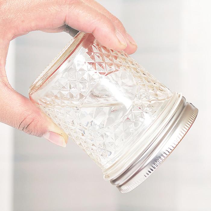 Mason Glass Jar Jewel Jars