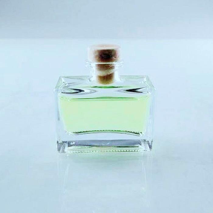100ml rectangular perfume glass bottle