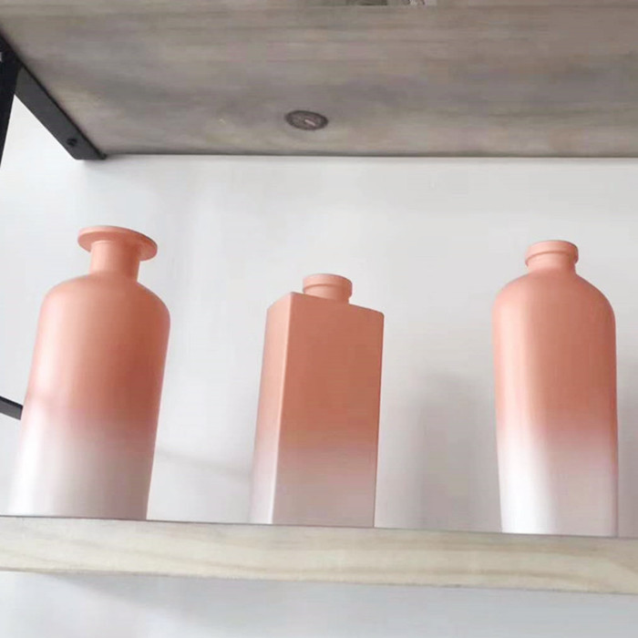 Customized reed diffuser glass bottles