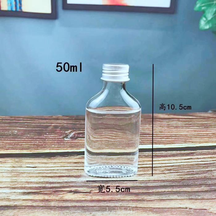 50ml 100ml Chili sacue glass bottles