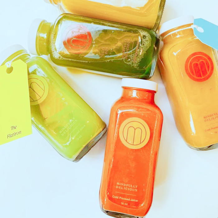 French square bottle for Juice