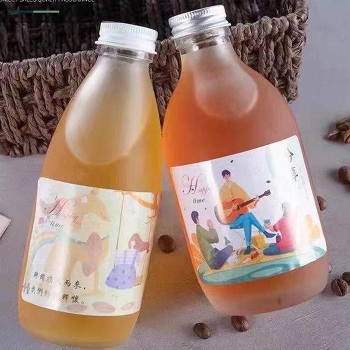 Kombucha Bottles Frosted Glass Bottles 16oz
